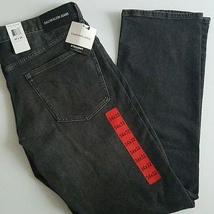 Calvin Klein Jeans Men's Jeans Straight 34x32 New